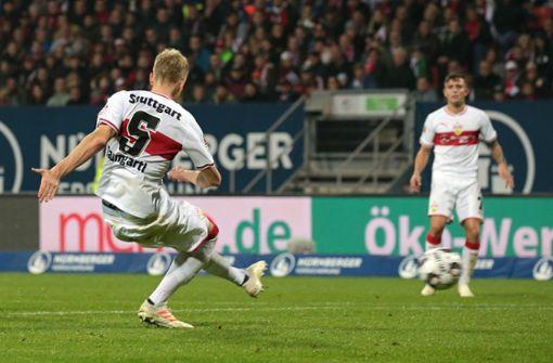 Timo Baumgartl traf zum 1:0 in der 68. Minute. Foto: Pressefoto Baumann