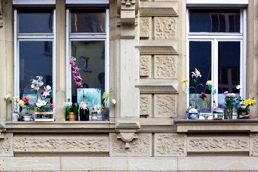 Fuck yeah mit Blumen schmücken. Foto: Harald Völkl