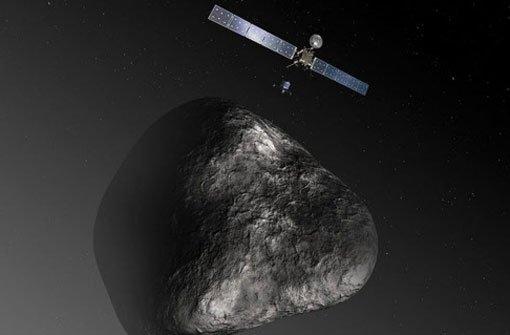 Raumsonde soll auf Komet landen