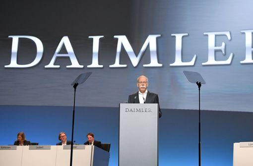 Daimler bleibt  viele Antworten  schuldig