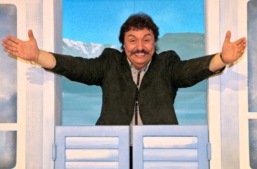 Der Entertainer Achim Mentzel ist tot. Foto: dpa-Zentralbild