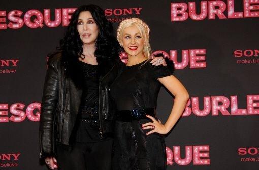 Cher und Aguilera in Berlin