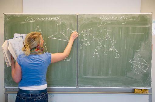 Nur 46 Prozent der Lehrer arbeiten Vollzeit