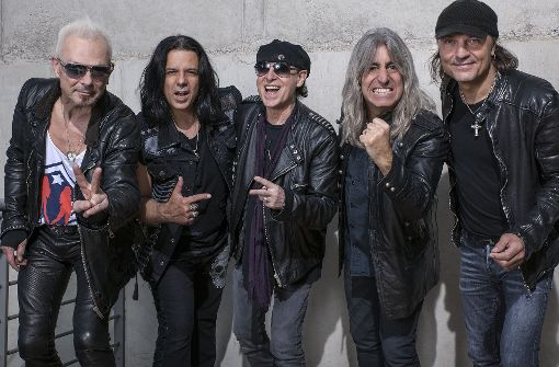 Scorpions kommen nach Ludwigsburg