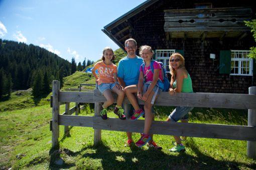 Auf Familien warten viele authentische Abenteuer an der frischen Luft.  Foto: Nesselwang Marketing GmbH