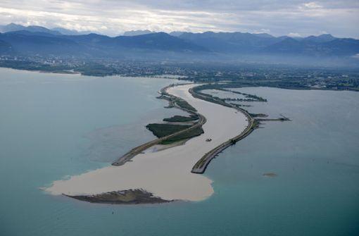 200 Meter lange Sandinsel wirft Fragen auf
