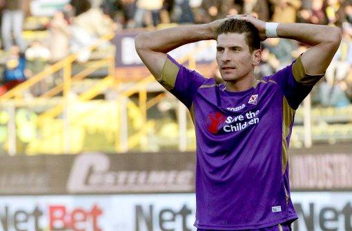 Mario Gomez bleibt in Florenz – vorerst