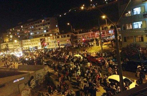 Chile von schwerem Beben heimgesucht