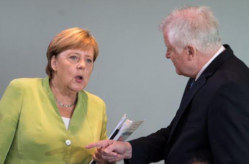 Merkel reagiert auf Seehofers Migrations-Äußerung