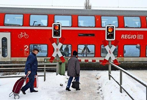 Ein Regionalexpress am Bahnhof – vielleicht bald auch in Weil oder Renningen? Foto: dpa