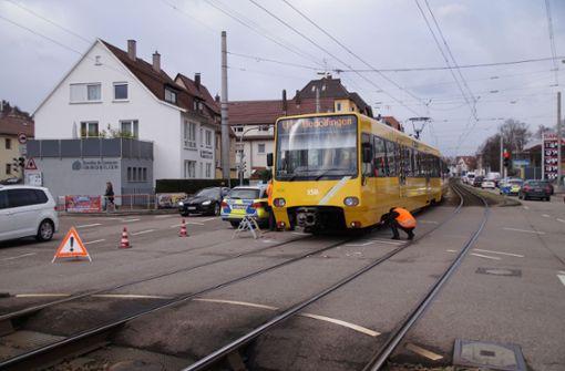 Am Mittwochnachmittag war es in der Hedelfinger Straße... Foto: SDMG