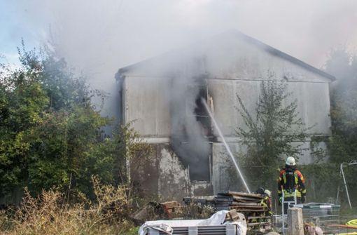 Das Gebäude ist einsturzgefährdet. Foto: SDMG