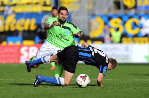 Kickers verlieren 2:3 in Saarbrücken