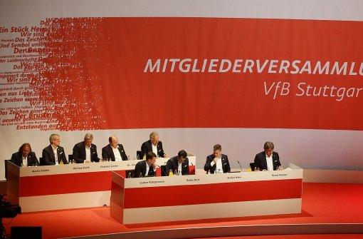 Der VfB-Aufsichtsrat im Livestream