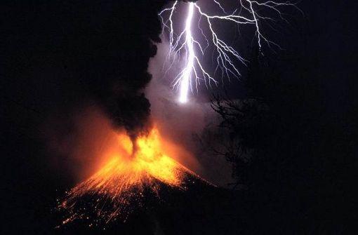 Die größten Vulkanausbrüche der Geschichte