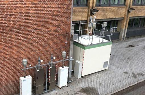 Messgeräte zur Überprüfung Foto: LUBW
