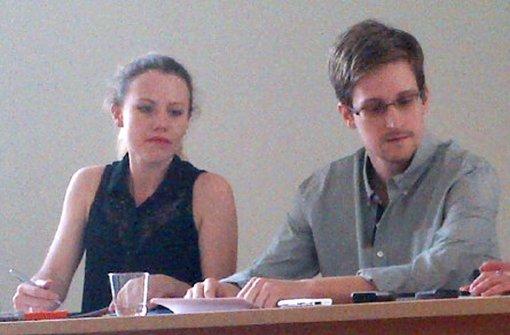 Snowden-Unterstützer in Berlin
