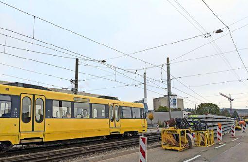 Zwölf Tage lang keine Stadtbahn in und um Gaisburg