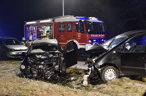 Heftiger Crash fordert zwei Schwerverletzte