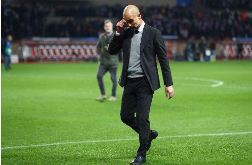 Aus für Guardiola und Manchester City