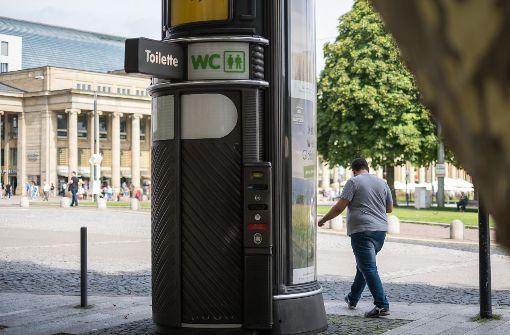 So steht es um öffentliche Toiletten in der Stadt