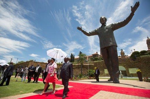 Mandela wacht nun über Pretoria