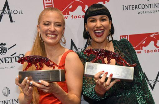 """Nessi und Kiddo Kat bekommen den """"New Faces Award"""""""