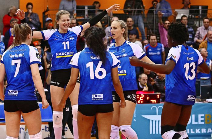Volleyball –  Allianz MTV Stuttgart: Coup in der Champions League