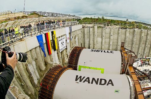Baubeginn für den Albvorlandtunnel