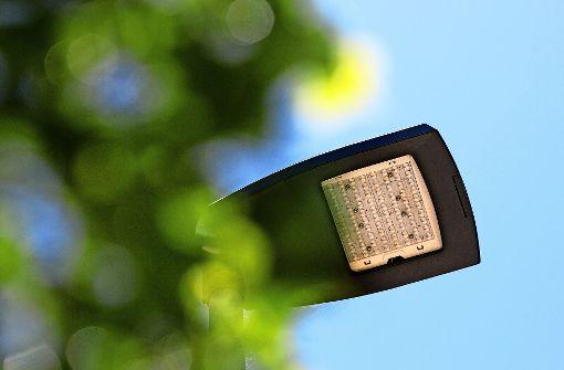 1400 Lampen werden ausgetauscht