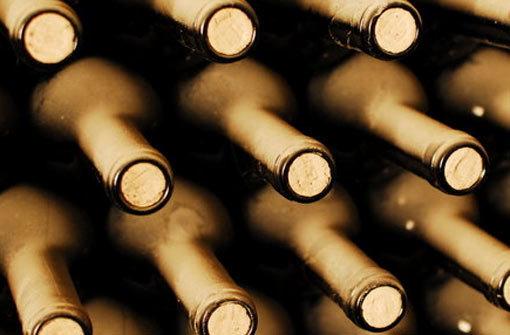 Der Wein muss in die Flasche