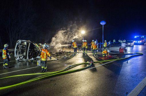 Mehrere Tote bei Unfall auf A6