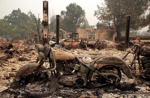 Toter bei Waldbränden in Kalifornien