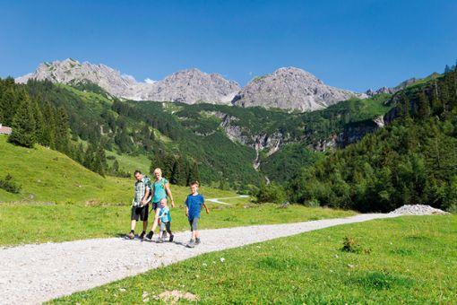 Kleinwalsertal - Gipfel, Schluchten, Wanderfreude