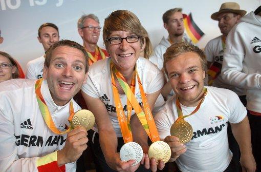 Die deutschen Sportler sind zurück