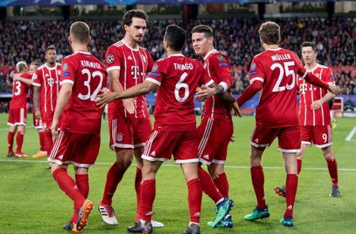Bayern auf Halbfinalkurs, Madrid siegt in Turin