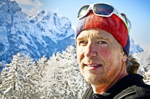 Der blinde Extrembergsteiger Andy Holzer aus Tristach in Osttirol will zwischen dem 15. und 26. Mai mit zwei Seilgefährten den Aufstieg auf den Mount Everest wagen. Foto: andyholzer.com