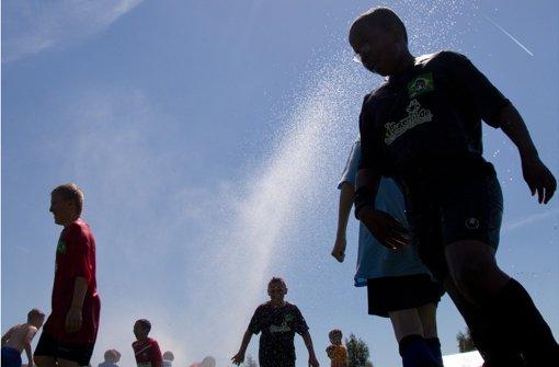 Wie Topsportler die  Hitze ertragen