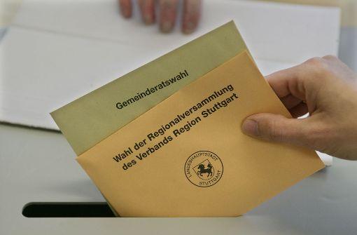 Uneins  über die  Direktwahl der Bezirksbeiräte