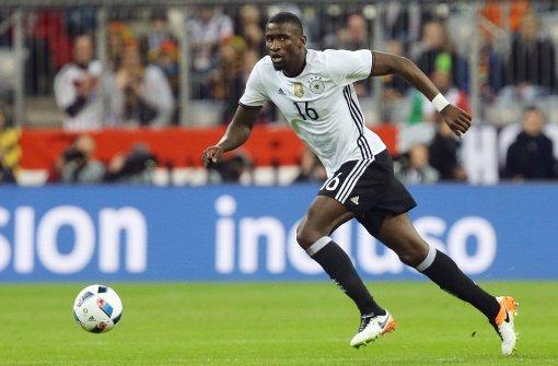 Geht gegen Pegida in die Offensive: Nationalspieler Antonio Rüdiger Foto: Baumann