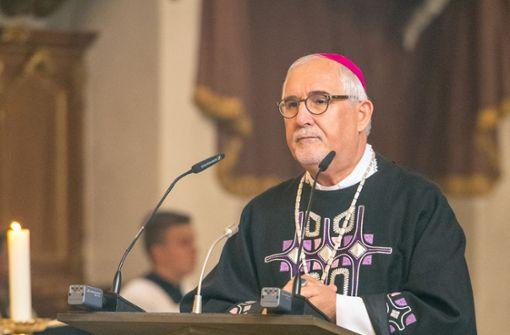 Bischof Fürst ist vom Außmaß erschüttert