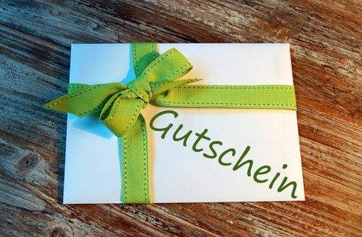 Ein Gutschein, der im Dezember 2015 gekauft wird, gilt  bis zum 31. Dezember 2017. Foto: Fotolia/© Vielfalt21