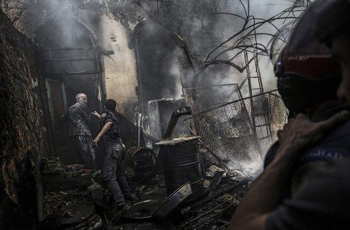 Kleinere Verstöße gegen Feuerpause gemeldet