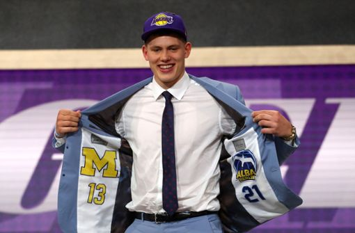 Los Angeles Lakers draften die Deutschen Moritz Wagner und Isaac Bonga