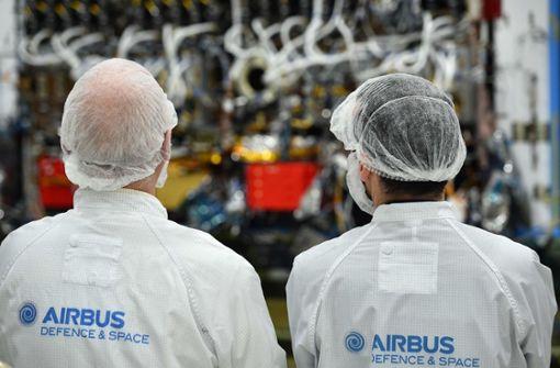 Mögliche Stellenstreichungen bei Airbus