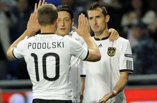 Deutsche gewinnen 3:0 in Kasachstan