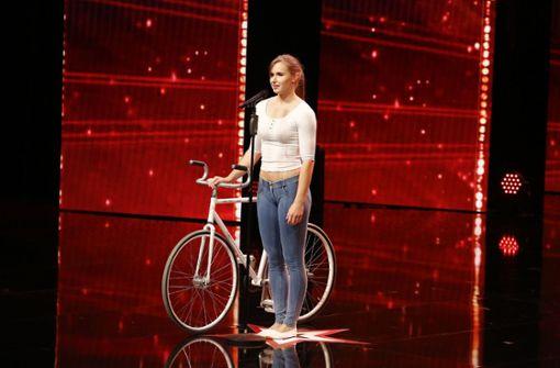 Kunstradfahrerin aus Schorndorf will Supertalent werden