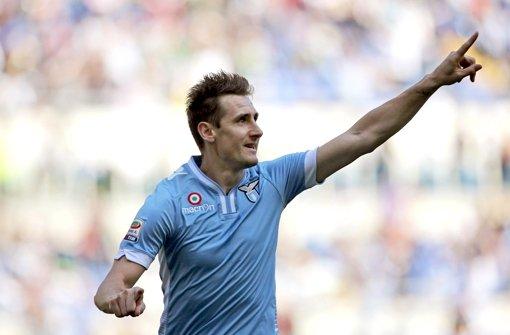Stürmer trifft weiter für Lazio Rom