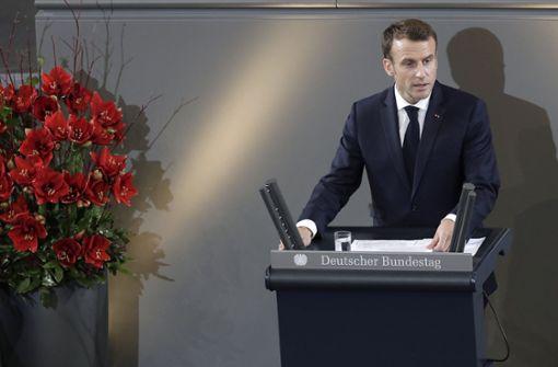 Französischer Präsident fordert mehr Europa