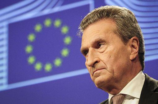 """""""Brüssel wartet auf verantwortungsvolle Regierung in Berlin"""""""